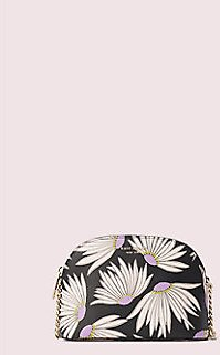 Spencer Falling Flower Small Dome Crossbody (2 Colors)