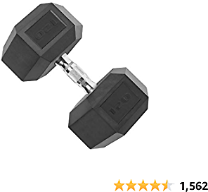 Cap Top Coated Hex Dumbbell Weights