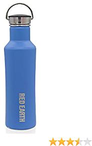 GiNT 18/10 Stainless Steel Water Bottle 18oz. Double-Walled Vacuum Insulated Premium Water Bottle. Keep 24 Hours Cold or 12 Hours Hot. Matte Finished and Powder Coated.
