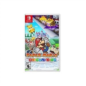 Paper Mario The Origami King - Nintendo Switch + Free $25 Dell Promo EGift Card