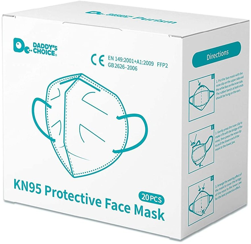 20-ct KN95 Facemask