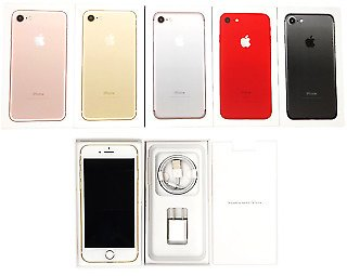 UNUSED 🔥Factory Unlocked🔥 Apple IPhone 7 AT&T T-Mobile Verizon Sprint with BOX