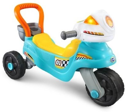 VTech 3-in-1 Step Up and Roll Motorbike 3-Wheeler and Walker