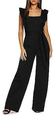Belted Palazzo Jumpsuit