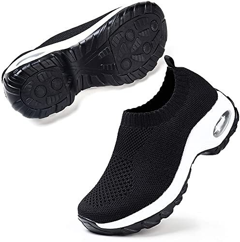 Women's Slip On Breathe Mesh Walking Shoes