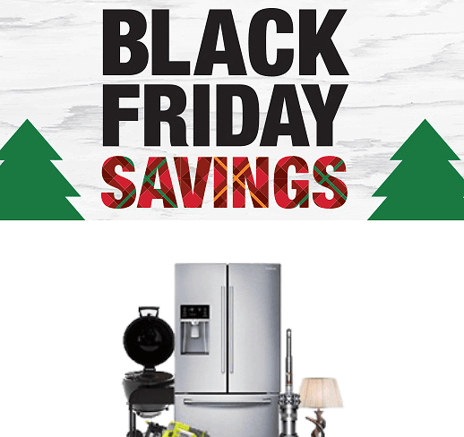 Up to 40% Off Black Friday Appliances + Up to $700 Off