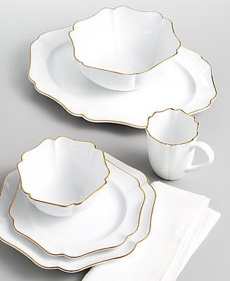 Martha Stewart Collection Baroque Dinnerware Collection, Created for Macy's & Reviews - Dinnerware - Dining