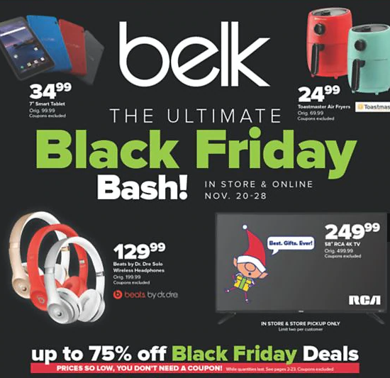 Up to 75% Off 'Black Friday Bash' + Extra 65% + 15% Off