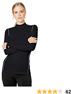 Starter Women's Compression Mockneck Top, Amazon Exclusive