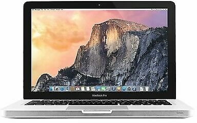 "Apple MacBook Pro A1278 13"" I5-3210M 2.5GHz Laptop Computer 250GB SSD 8GB 2012"