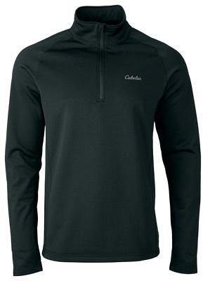 Cabela's E.C.W.C.S. Heavyweight Base Layer Quarter-Zip Long-Sleeve Pullover for Men | Bass Pro Shops