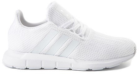 Adidas Swift Run Athletic Shoe - Big Kid - White Monochrome