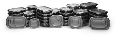 100-Piece Rubbermaid Meal Prep Food Storage Containers Set - Sam's Club