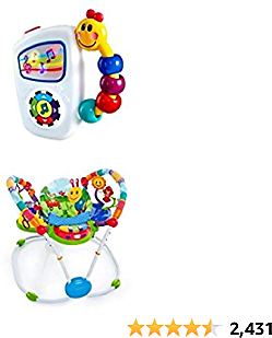 Baby Einstein Take Along Tunes and Jumper Bundle