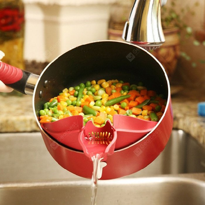 High-quality Silicone Strainer Kitchen Gadget Sale, Price & Reviews | Gearbest