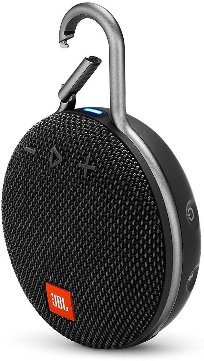 43% Discount - JBL CLIP 3 - Waterproof Portable Bluetooth Speaker - Black