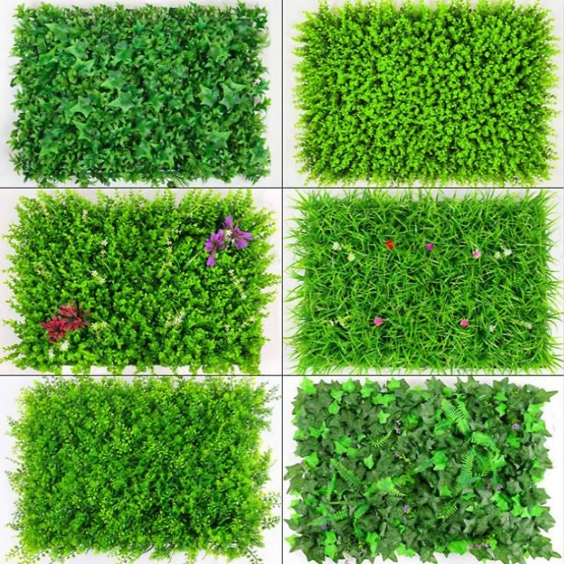 US $3.9 |40x60cm Artificial Green Plant Lawns Carpet for Home Garden Wall Landscaping Green Plastic Lawn Door Shop Backdrop Image Grass|Artificial Plants| - AliExpress