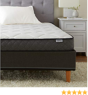 AmazonBasics Premium Foam Mattress - CertiPUR-US Certified - 7-inch, 2-Pack Twin
