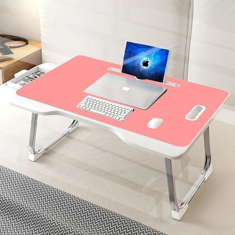 Laptop Bed Table, Bed Trays for Eating, Laptops, Writing, Study and Drawing- Laptop Desk Folding Laptop Standwith Portable Stand