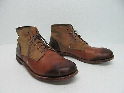 Timberland Boot Company 4054R Carries Brown Leather Chukka Boots Size Men's 9