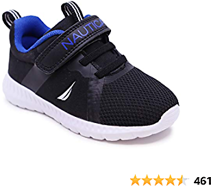 Nautica Kids Fashion Sneaker Athletic Running Shoe with One Strap Boys-Girls  (Toddler/Little Kid)