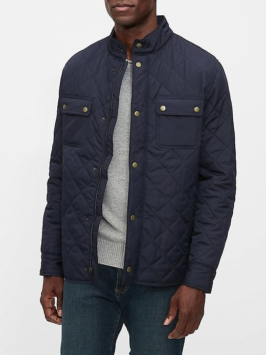 Men's Quilted Jacket, 2 Colors | Gap Factory