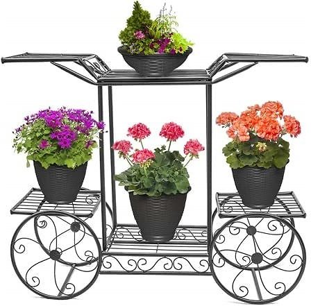 Sorbus Garden Cart & Flower Stand - $34.99 - Free Shipping for Prime Members