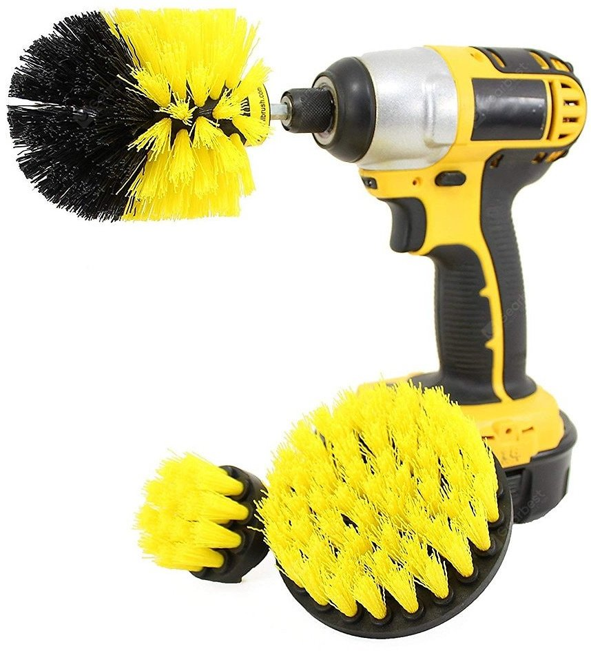 Gocomma Electric Drill Brush Head Yellow Brushes Sale, Price & Reviews | Gearbest