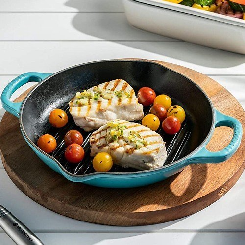 Le Creuset Enameled Cast Iron Deep Grill