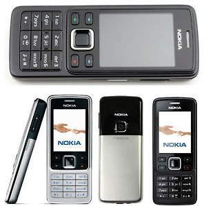 HOT 100% Original Unlocked Nokia 6300 Bar Mobile Cell Phone GSM Camera Bluetooth