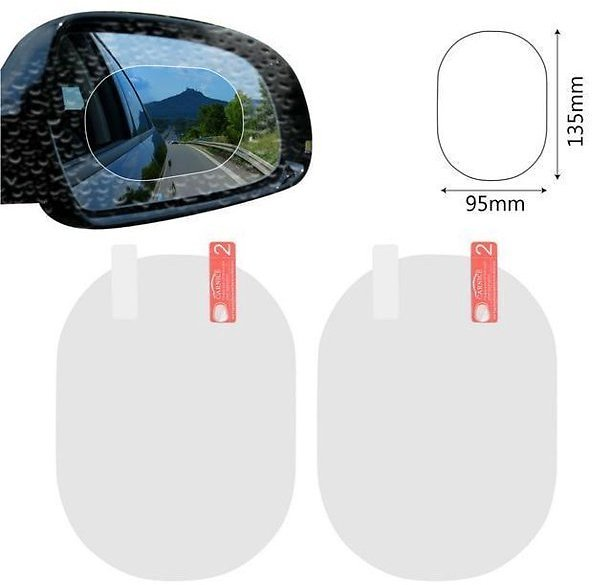 Supper Car Mirror Protective Film - 2PCS