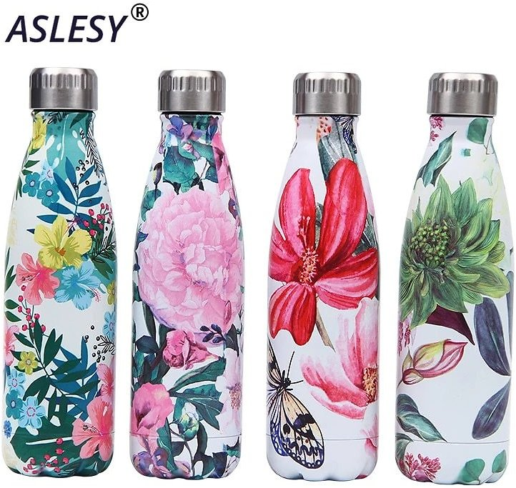 LOGO Custom Stainless Steel Bottle for Water Thermos Vacuum Insulated Cup Double-Wall Travel Drinkware Sports Flask Hydro Flask