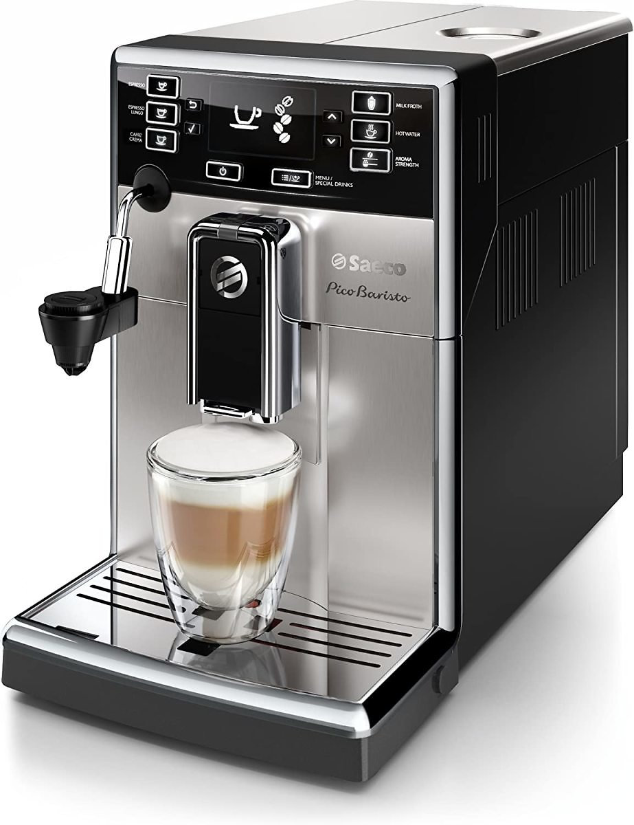 21% Discount - Saeco HD8924/47 PicoBaristo AMF Automatic Espresso Machine, Stainless Steel, 21