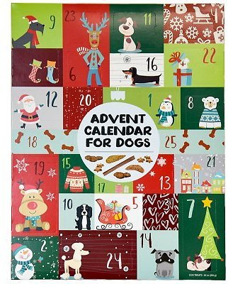 Advent Calendar for Dogs with 35 All Natural Treats - Sam's Club