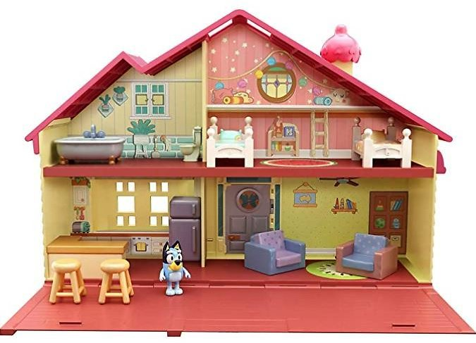 Bluey Family Home Playset with 2.5