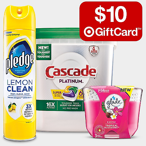 (11/15) Free $10 Gift Card w/ $40 Household Essentials