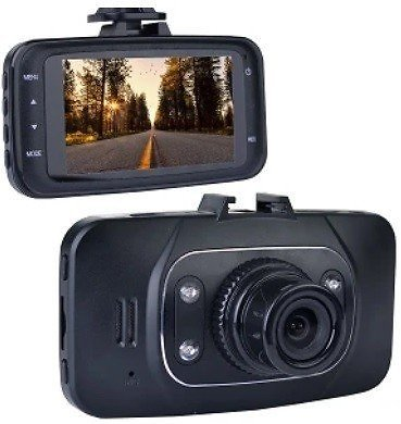 Automotive 1080p HD Dash Cam with Night Vision, 2.7
