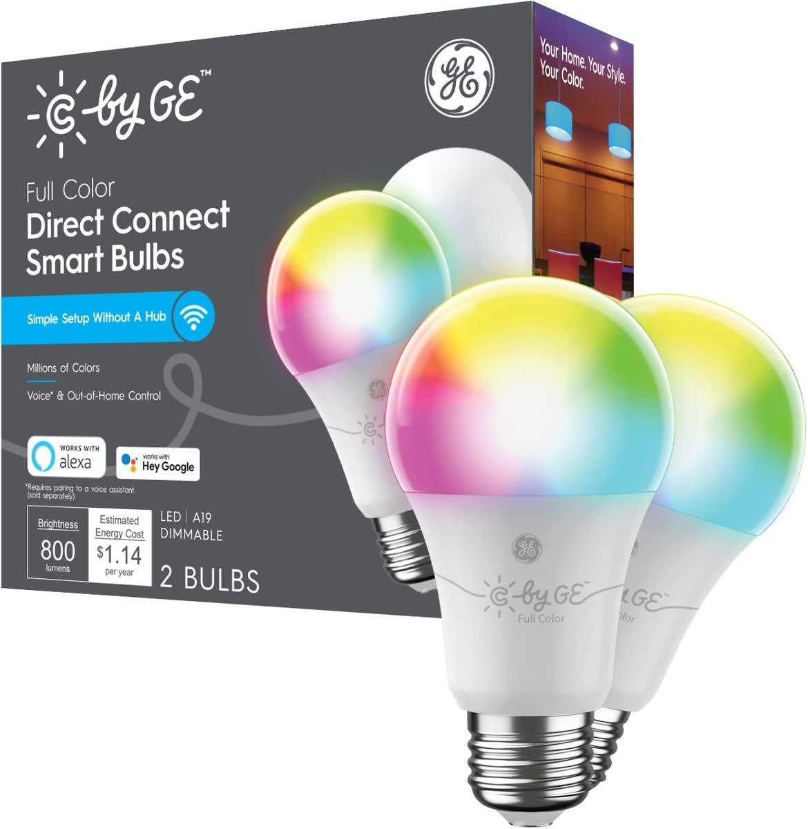 C by GE Direct Connect Light Bulbs
