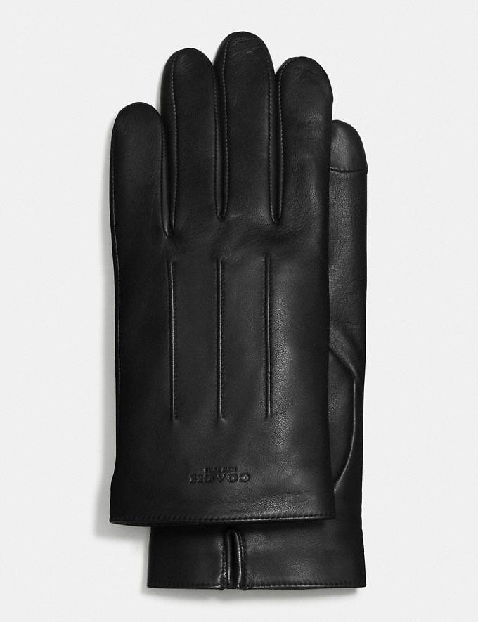 Leather Gloves - 3 Colors