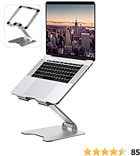 Laptop Stand, VMEI Aluminum Laptop Riser, Ergonomic Laptops Elevator for Desk, Laptop Holder Compatible with MacBook Pro Air, Lenovo, HP, Dell, All10-15.6 Inch Laptop,Raise 13.8