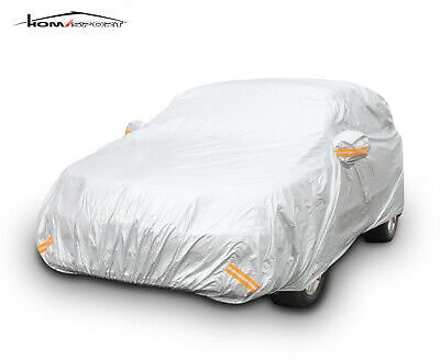 Car Cover Sun Snow Rain Dust Proof Protection Cover Outdoor Up to 185