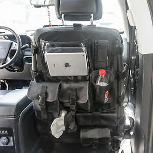 Front Seat Cover Universal Organizer Storage Muti-Compartments Holder Bag