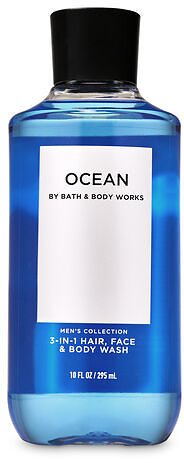 Ocean 3-in-1 Hair, Face & Body Wash | Bath & Body Works