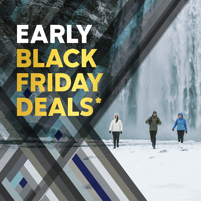 FACTORY STORES: Early Black Friday - $59.99 and Up Omni-Heat™ Gear!
