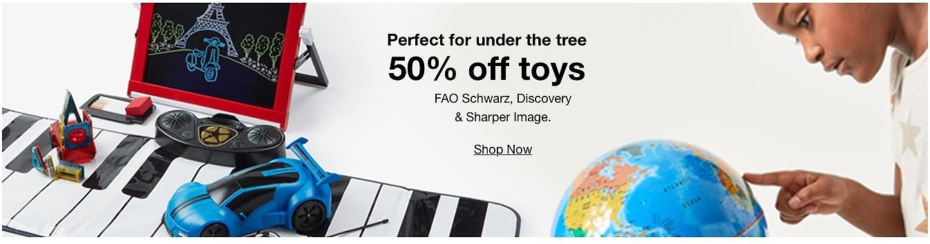 50% Off FAO Schwarz, Discovery & Sharper Image Toys Clearance Sale