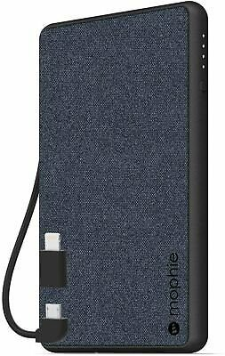Mophie Portable Charger 4060mAh MFI Battery Built-In Lightning & Micro-USB Cable 848467074222