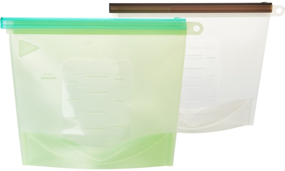 Evriholder Reusable Silicone Storage Bags - 2-Pack