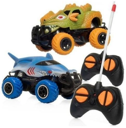 Toy Dinosaur RC CarwithController (2-Pack)
