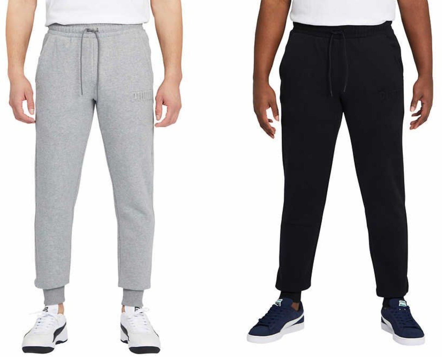 Puma Men's Embossed Fleece Pant( 3 Colors)+F/S