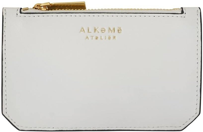 Air Credit Card Case - White By Alkeme Atelier